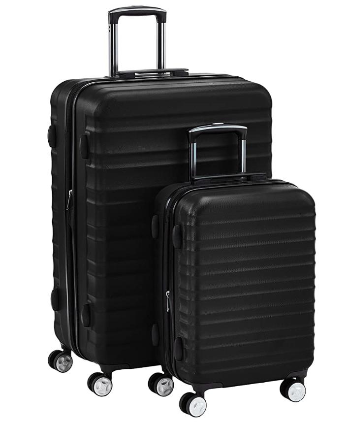 amazonbasics premium luggage set