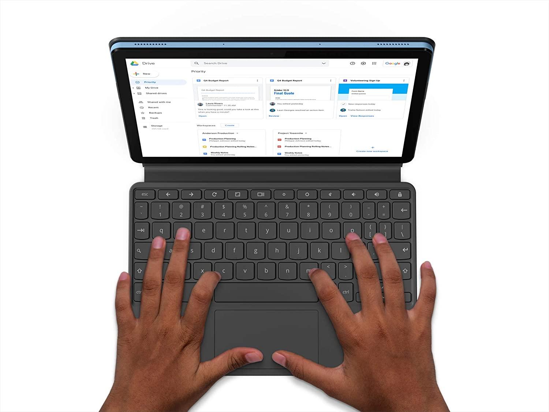 Lenovo Chromebook Duet, 2-in-1, 10.1-inch WUXGA