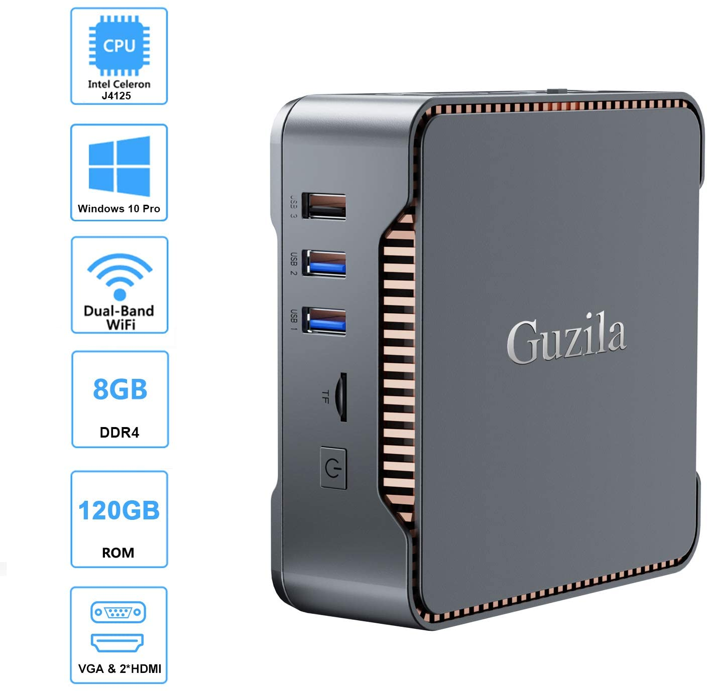 GUZILA Mini PC ak3v