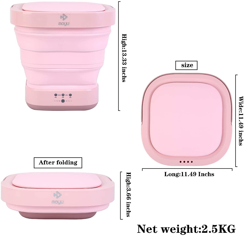 Ycsst Foldable Portable Mini Washer