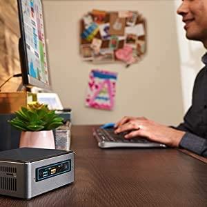 Intel NUC 8 Mainstream Kit NUC8i5BEHS Mini Business and Home Desktop