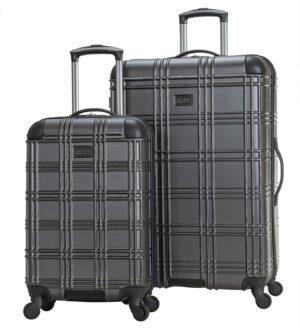 ben sherman nottingham hardside luggage set