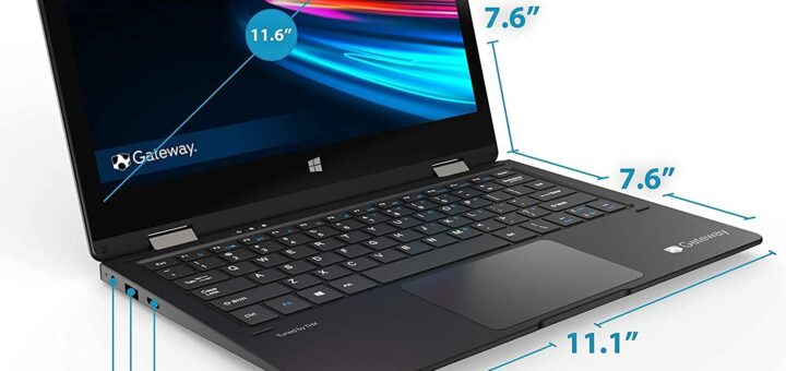 Gateway Touchscreen 11.6 FHD 2-in-1 Convertible Laptop